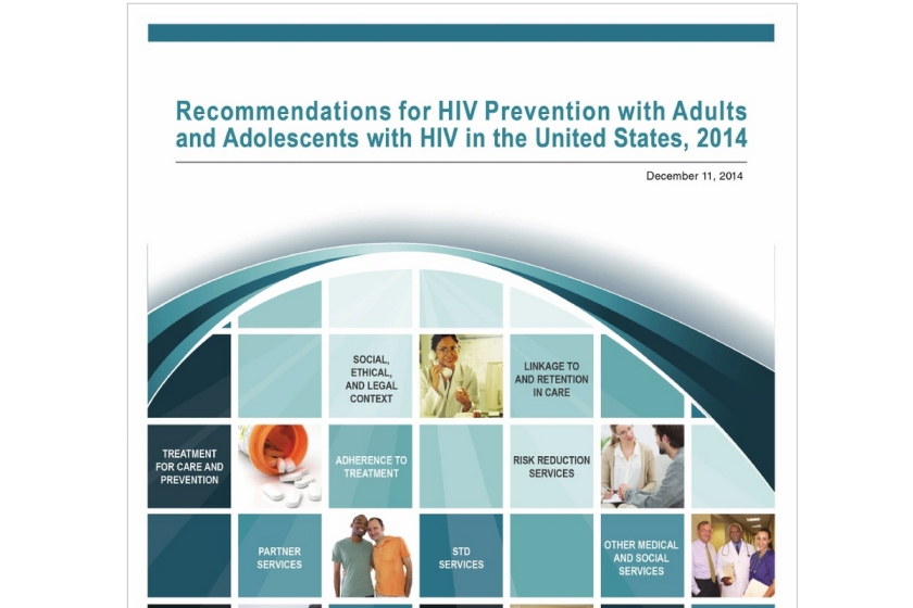 CDC Recommendations for HIV prevention