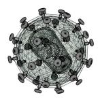 HIV_3D_modelo