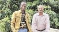 B Sekar e Rama Pandian (à direira) tinham 20 anos quando se infectaram com o HIV.